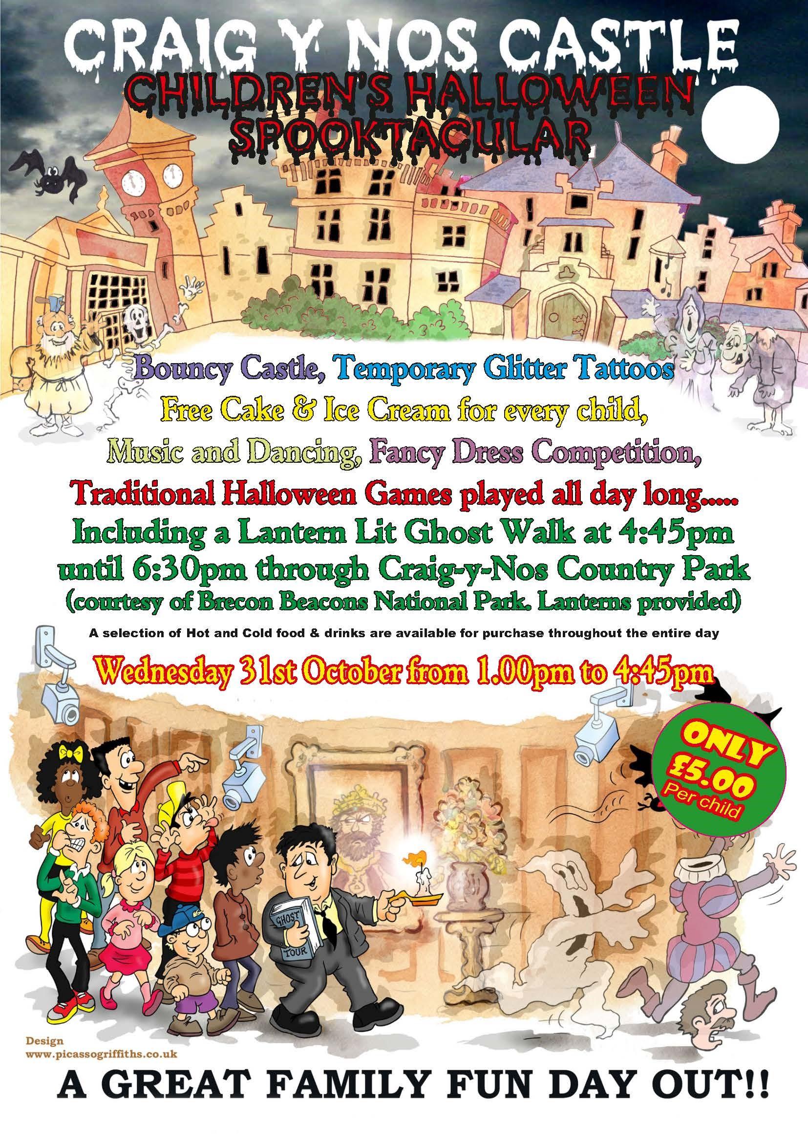 halloween night wednesday 31st october 2018 most haunted castle