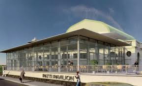 Patti Pavilion in Swansea, South Wales