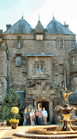 Craig y Nos Castle Haunted House front descendants of Morgan Morgan family Upper Swansea Valley