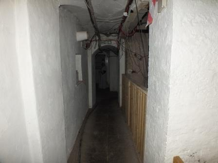Childrens Fright Night - cellar passage at Craig y Nos Most Haunted Castle in Wales