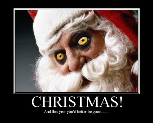 Fright Night Nightmare before Christmas - scary father christmas image