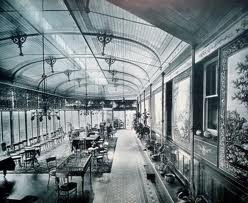 Conservatory at Craig y Nos Castle Haunted Hotel in Wales 1918