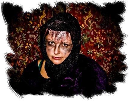 Childrens Fright Night character from Fright Night ghost tours Swansea South Wales