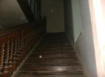 Orbs on staircase at Craig y Nos Castle haunted hotel, South Wales
