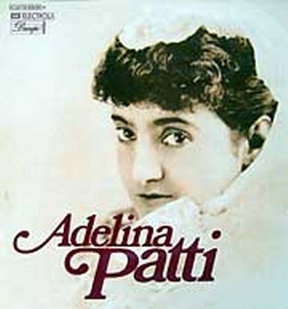 Adelina Patti old 78 record cover