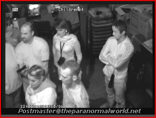 Ghost Hunters in Childrens Ward - top floor states room Craig y Nos Castle South Wales